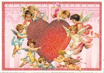 Postcard Edition Tausendschoen   Heart