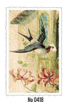 Oud Hollandse Postkaart | Bird with Love Letter