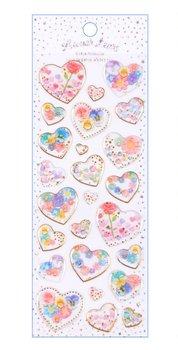 Puffy Epoxy Stickers | Lunar Tears Hearts