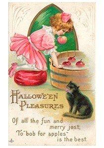 Victorian Halloween Postcard | A.N.B. - Halloween pleasures