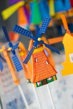 The Dutch Connection Postcard | Souvenir Windmills