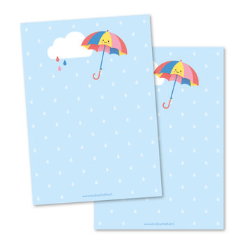 Memo pad Studio Schatkist   Paraplu