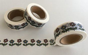Washi Masking Tape | Cute Flowers
