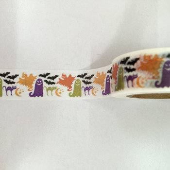 Washi Masking Tape | Halloween Ghosts and Bats