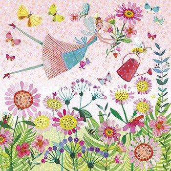 Mila Marquis Postkarte   Blumenelfe