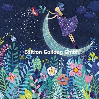 Mila Marquis Postkarte   Elfe mit Mond