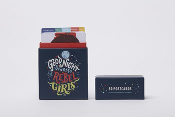 Rebel girls postcards - 50 postcards box