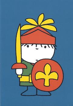 Nijntje Miffy Postcards | Daan als ridder