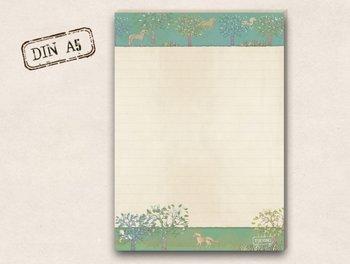 A5 Letter Paper Pad TikiOno | Horses