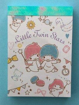 Sanrio Kawaii Mini Memo Pad | Little Twin Stars