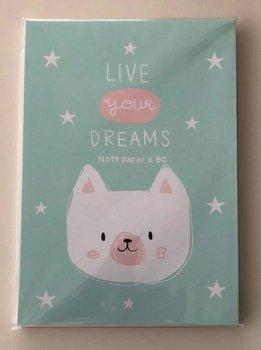Letter Paper Mix 80 | Live your dreams