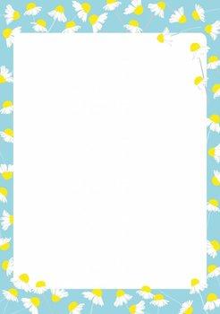 A5 Letter Paper Pad crissXcross | Chamomile