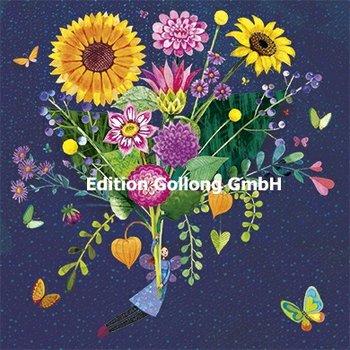 Mila Marquis Postcard | Boeket met zonnebloemen