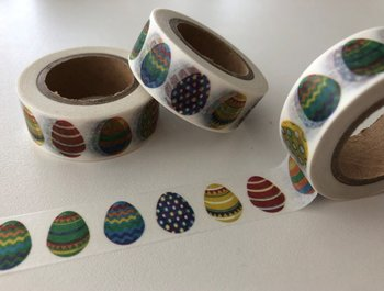 Washi Masking Tape | Easter Eggs