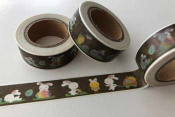 Washi Masking Tape | Easter Bunnies