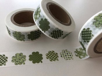 Washi Masking Tape | Clovers