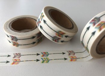 Washi Masking Tape | Rainbow Arrows