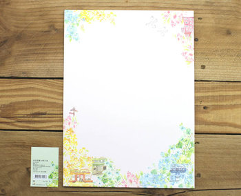 A4 Colourful Paper Amy and Tim | Small Shops