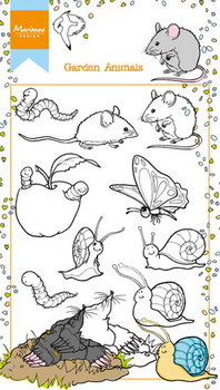 Marianne Design Clear Stamp | garden animals