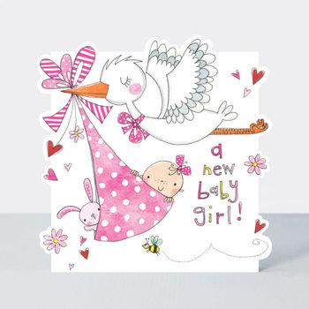 Rachel Ellen Designs Cloud Cuckoo Land - New Baby Girl Stork