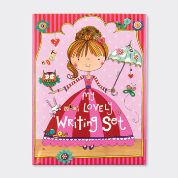 Rachel Ellen Designs Writing Set WALLET | Very Lovely Princess
