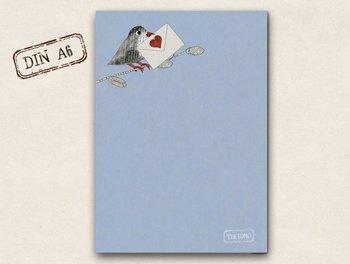 Memopad TikiOno   Love Message (Blue)