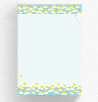 A4 Letter Paper Pad crissXcross | Chamomile
