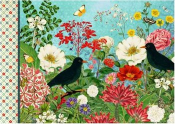 Illustrated notebook Gwenaëlle Trolez Créations - Fleurs