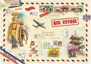 Illustrated notebook Gwenaëlle Trolez Créations - Bon Voyage