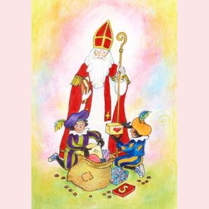 Postcard Geertje van der Zijpp | Saint Nicholas