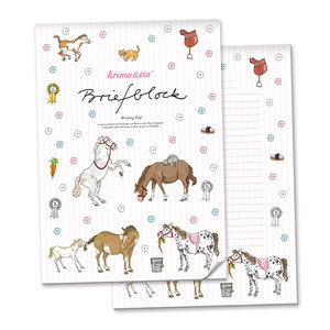 A4 Letter Paper Pad - Pony