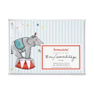 Envelope Set C6 - Circus
