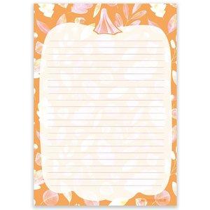 A5 Briefpapierblok | Autumn Pumpkin