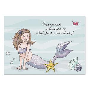 Krima & Isa Postcard | Meerjungfrau 3