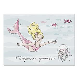 Krima & Isa Postcard | Meerjungfrau 1