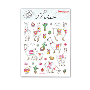 5 Sticker Sheets Krima & Isa | Alpaca