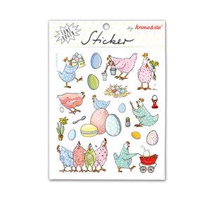 5 Sticker Sheets Krima & Isa | Easter