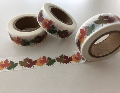 Autumn Washi Masking Tape | Maple Leaf