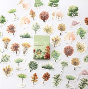 Sticker Flakes Box   Forest