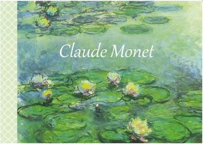 Illustrated notebook Gwenaëlle Trolez Créations - Claude Monet