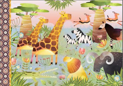 Illustrated notebook Gwenaëlle Trolez Créations - Animalia
