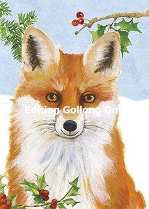 Carola Pabst Postcard   Fox