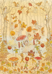 Postcard Molly Brett | Autumn Procession