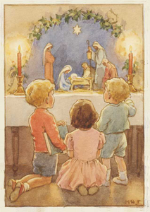 Postcard Molly Brett | The Children's Crib