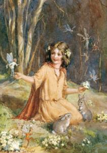 Postcard Margareth W. Tarrant | Primrose Fairies