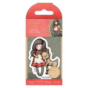 Gorjuss Collectable Rubber Stamp - Santoro - No.79 Oh Deer