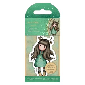 Gorjuss Collectable Rubber Stamp - Santoro - No.82 Doe-Eyed
