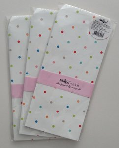 Natural Pattern Envelopes (Dots on White)