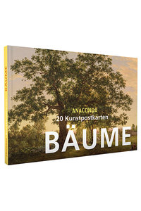 Anaconda Art Postcard Book | Bäume (Trees)