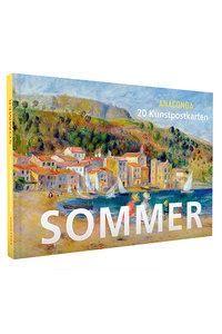 Anaconda Art Postcard Book | Sommer (Summer)